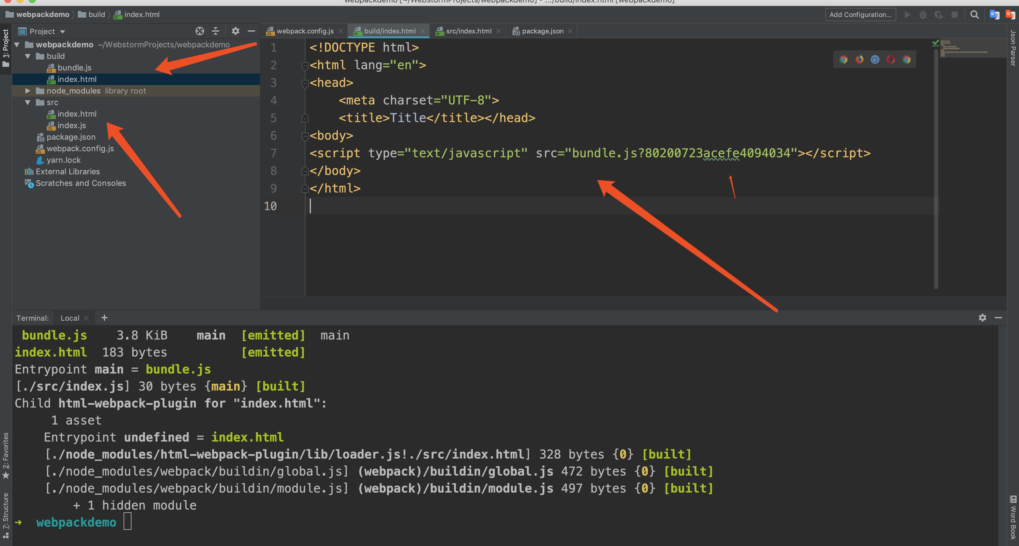 创建html模版