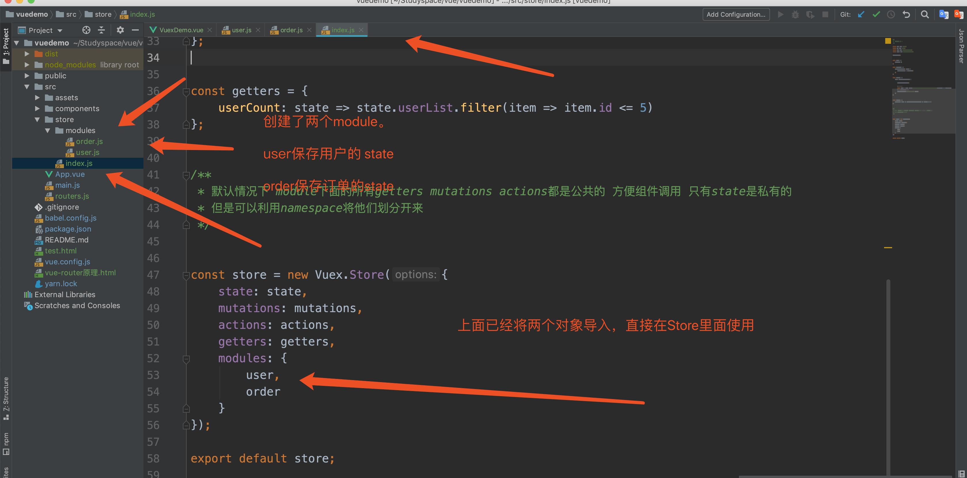 module-code